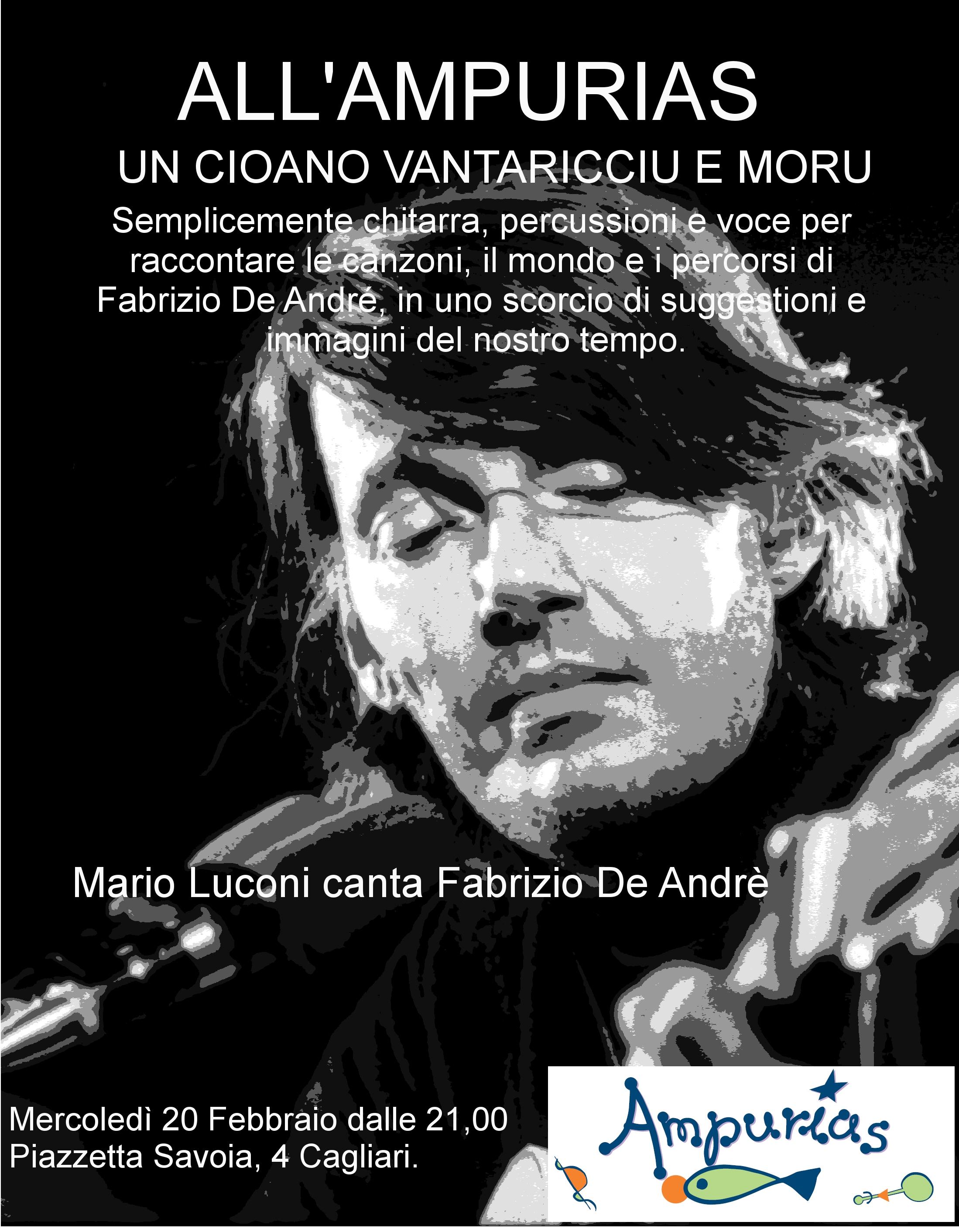 Buon Compleanno Faber Dal 15 Al 28 Febbraio A Cagliari Monserrato